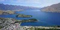 Lake Wakatipu in the South Island of New Zealand.māori