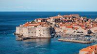Dubrovnik is a Croatian city in Dalmatia.